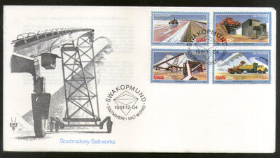 South West Africa 1981 Salt Making Plant Machine FDC # 16126
