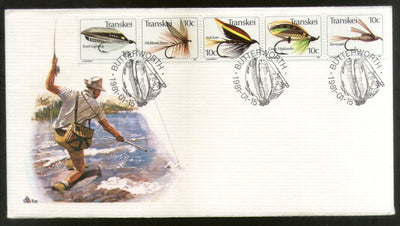 Transkei 1981 Dragonflies Insect Fishing Files Fish Marine Life FDC # 16512