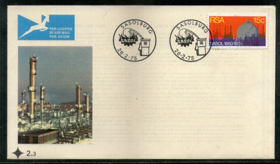 South Africa 1975 Petroleum Refinery Coal Oil Gas Corp. Ltd. Sc 439 FDC # 16538