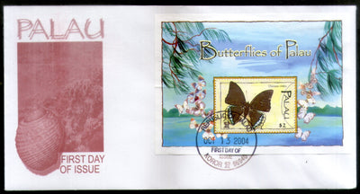 Palau 2004 Butterfly Moths Insect Wildlife Animal Fauna Sc 790 M/s FDC # 16614