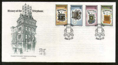 Bophuthatswana 1984 History of Telephone Telecommunication Science FDC # 16622