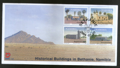 Namibia 2004 Historical Buildings in Bethanie Churches Architecture FDC # 16631