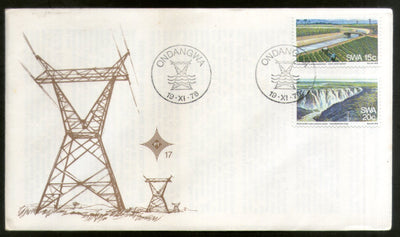 South West Africa 1976 Water & Electricity Hydroelectric Station Dam FDC # 16637