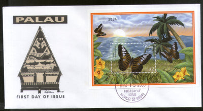 Palau 2000 Butterfly Insect Wildlife Animal Fauna Sc 600 M/s FDC # 16844
