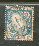 Ireland 1923 1sh Sword of Light Sc 76 Used Stamp # 179