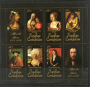 Central African Republic 2011 Religious Painting by Albrecht Durer Sc 1671 M/s MNH # 19048 - Phil India Stamps