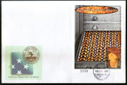 Micronesia 2000 Butterfly Insect Wildlife Animal Fauna Sc 375 M/s on FDC # 19120