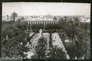 Spain 1952 Seville New Square Architect View Picture Post Card to Finland # 142