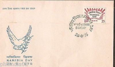 India 1975 Namibia Day Phila-652 FDC
