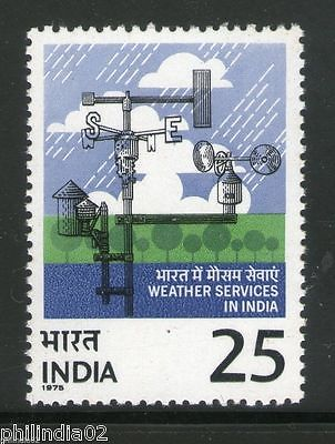 India 1975 Indian Metrological Department Phila-671 MNH