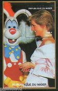 Niger 1997 Princess Lady Diana & Bunny Rabbit Royal Women M/s MNH # 12861