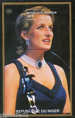 Niger 1997 Princess Lady Diana in Fancy Dress Royal Family Women M/s MNH # 13098