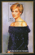 Niger 1997 Princess Lady Diana in Fancy Dress Royal Family Women M/s MNH # 5710
