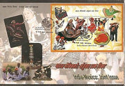 India 2010 India- Mexico Joint Issue Costume Dance M/s on Private FDC
