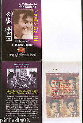 India 2009 Uttam Kumar Bengali Film Actor Cinema Movie Booklet # 5412