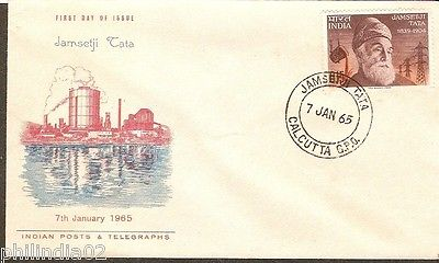 India 1965 Jamsetji Tata Phila-411 FDC