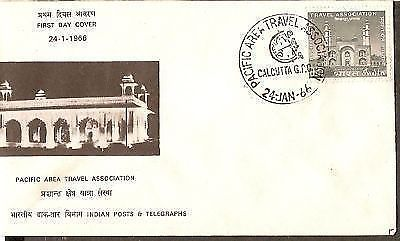 India 1966 Travel Association Conf Phila-424 FDC