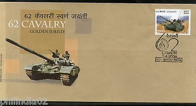 India 2006 62 Cavalry Regiment Military Phila-2182 FDC