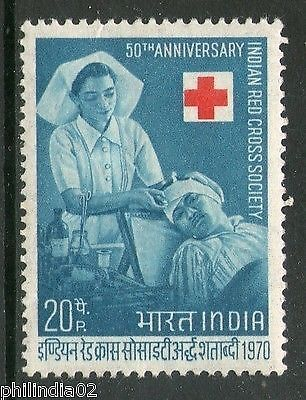 India 1970 Indian Red Cross Society Health Phila-523 1v MNH