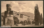 Austria 1911 Italy Trento Trient Castle Architecture View Picture Post Card #158