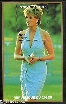 Niger 1997 Princess Lady Diana in Fancy Dress Royal Family Women M/s MNH # 13443