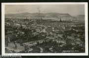 Austria 1913 Vienna Panorama Arial View Picture Post Card to Finland # 205
