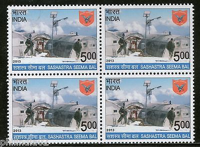 India 2013 Sashastra Seema Bal Arms Police Force Military BLK/4 MNH
