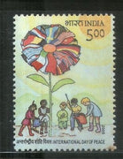 India 2005 UN Int'al Day of Peace Phila-2135 MNH