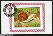 Sharjah - UAE Snail Reptiles Insect Fauna M/s Cancelled # 4138