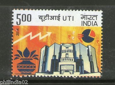 India 2014 Unit Trust of India Years of Pioneering Wealth Creation 1v MNH