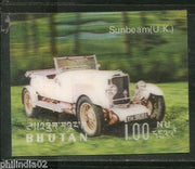 Bhutan 1971 Car Sunbeam UK Antique Automobiles Exotica 3D Stamp Sc128k MNH #1812