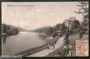 Italy 1921 Torino Castle Valentine Bridge to Finland View Picture Post Card #217