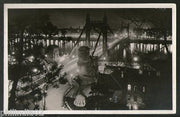 Hungary 1924 Budapest View of Elizabeth Bridge View Picture Post Card to Holland