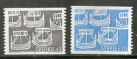 Sweden 1969 Five Ancient Ships Transports 2v MNH # 4133