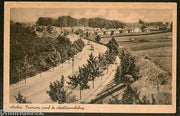 Netherlands 1947 Arnhem Panorama from the Bridge View Picture Post Card # 140