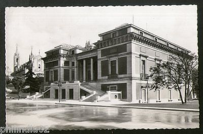Spain 1951 Madrid Prado Museum Architect View Picture Post Card to Finland #189