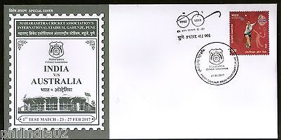 India 2017 1st Cricket Test Match India V/s Australia Sport Special Cover #18503