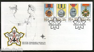 South Africa 1984 Military Medals Decorations Coat Of Arms Sc 642 45