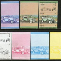 Nevis 1984 Pierce Arrow USA Car Automobile Sc 319 Progressive Proof Set MNH