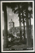 Spain 1953 Barcelona University Architect View Picture Post Card to Finland #192