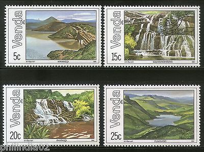 Venda 1981 Waterfalls Dam Lake Tourism Place Sc 44-47 MNH # 4323