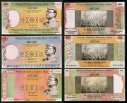 India 1997 Subhas Chandra Bose Birth Centenary Charity Coupon 3 Diff # 6345