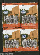 India 2013 IIFT Indian Institute of Foreign Trade BLK/4 MNH