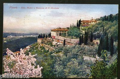 Italy 1930 FieSole Medici Villas and St. Jerome's View Picture Post Card # 144