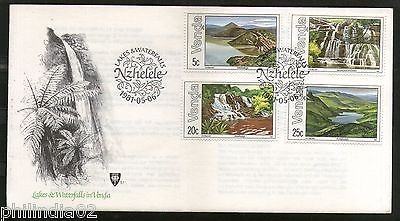 Venda 1981 Water Resources Waterfalls Dam Lake Tourism Place Sc 44-47 FDC #16460