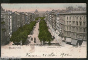 Austria 1902 Ring Road Grand Hotel Wien Vienna Vintage Picture Post Card # PC22