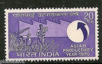India 1970 Asian Productivity Year Phila-514 MNH