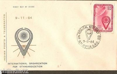 India 1964 International Organization Phila-407 FDC