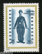 India 1978 Charlie Chaplin Cinema 1v Phila-761 MNH