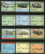 Tuvalu - Nui 1985 Cars Automobile VehiclesTransport 12v MNH # 2232